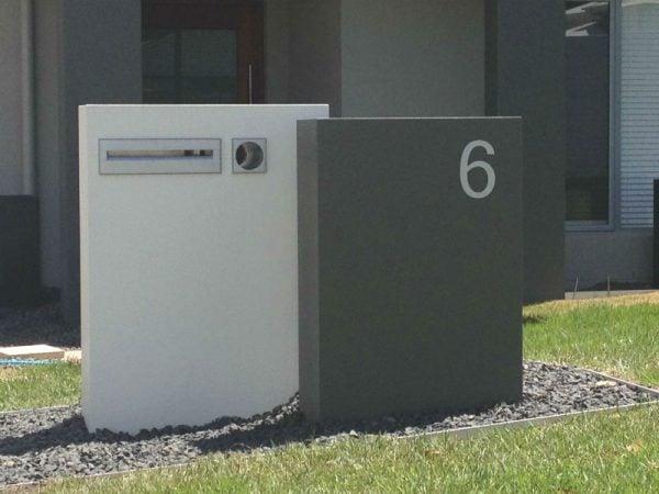 E20 Double Column Mailbox - RHS
