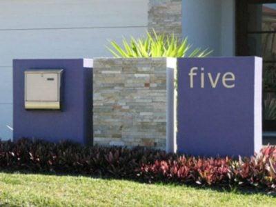 E45 Triple Column Mailbox