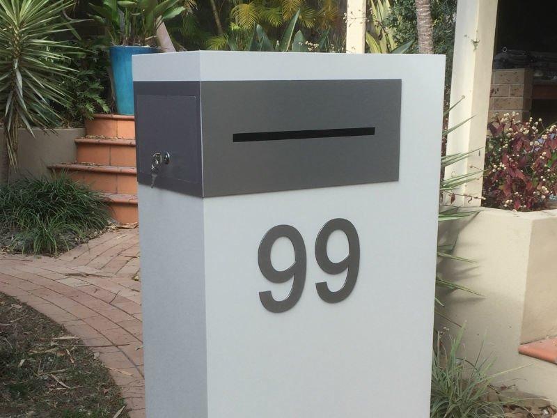 Relatively E29 Single Column Mailbox | Mailbox Solutions Brisbane PF15