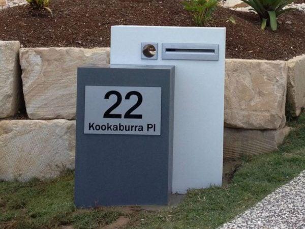 Mailbox Plaque